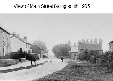 View of Main Street facing south 1905
